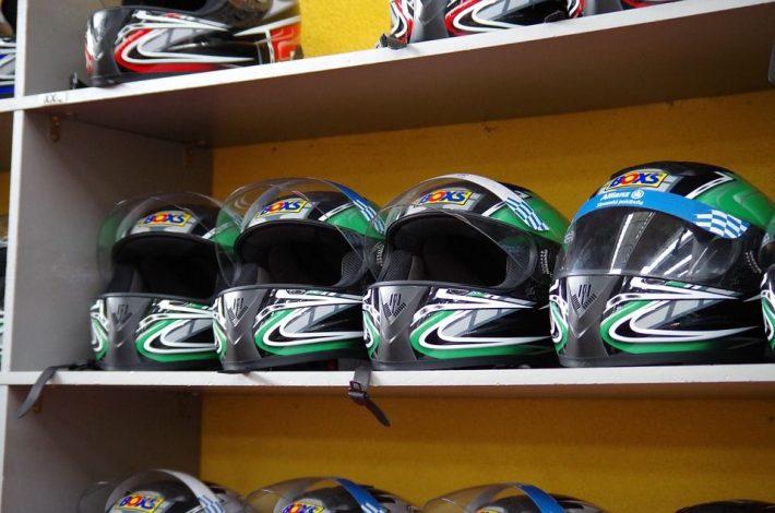 Dobrze zaopatrzony sklep motocyklowy w Krakowie