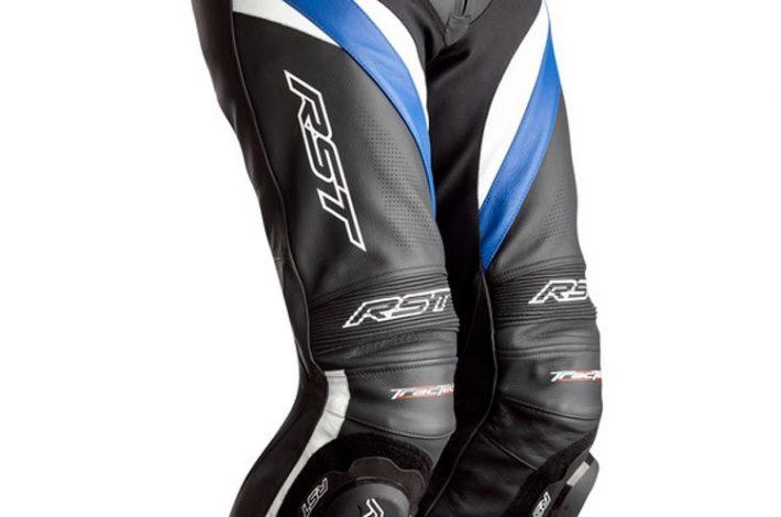 Spodnie motocyklowe skórzane i inne akcesoria dla motocyklistów